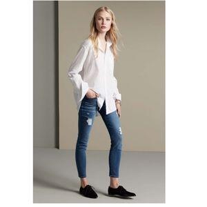 Current/ Elliot The Stiletto Niagara Destroy jeans